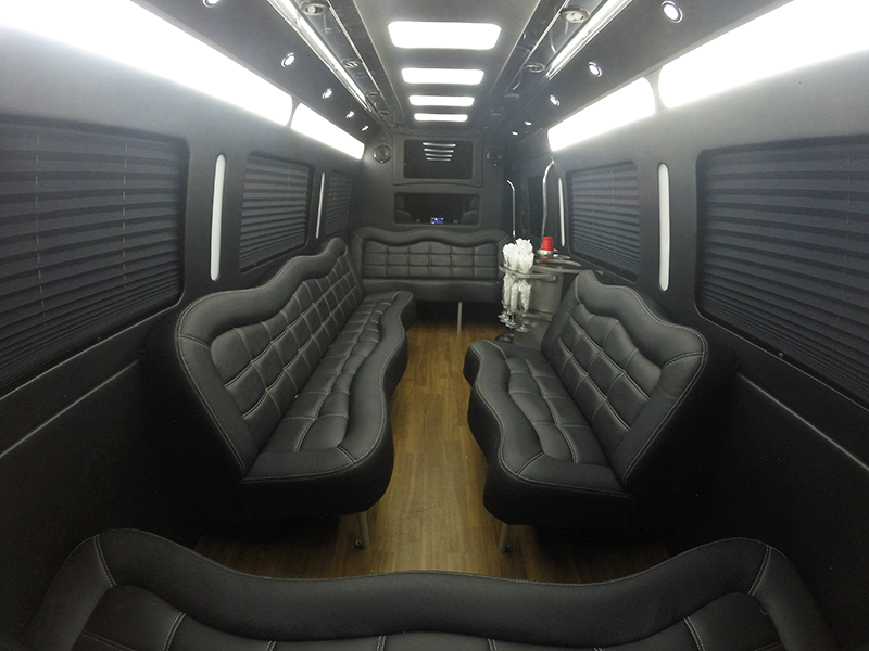 Mercedes benz sprinter by party bus southgate for Mercedes benz sprinter rental price